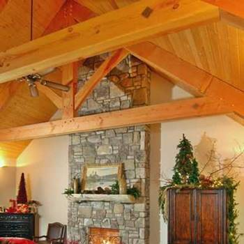 King Post Timber Truss
