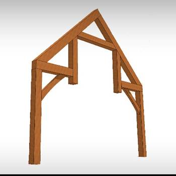High Country Timberframe | Timber Truss Profiles