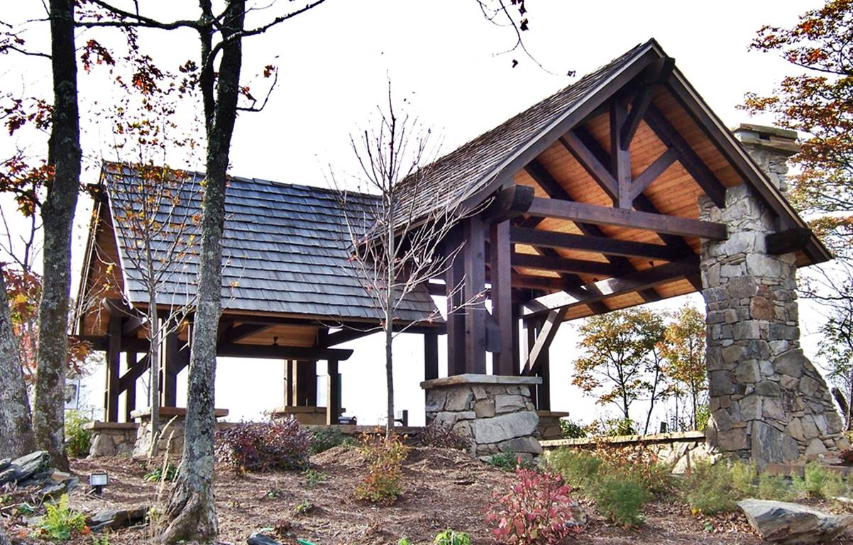 Heavy Timber Pavilions Pergolas Barns And Outdoor